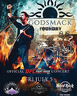 Godsmack & Foundry @ Hard Rock Las Vegas