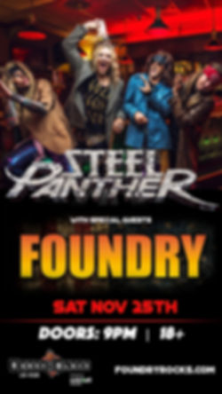 Steel Panther & Foundry