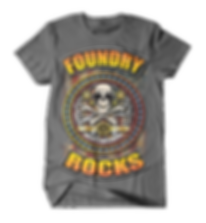 Foundry Rocks T-Shirt Gray