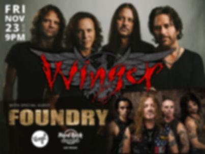 Winger & Foundry @ Hard Rock Las Vegas