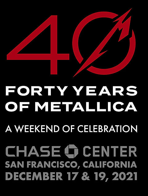 Metallica 40th Anniversary