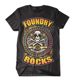 Foundry Rocks T-Shirt Black.png