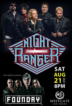 Night Ranger with Foundry at Westgate Las Vegas