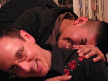Jorge and Me. Laughing jpg.jpg