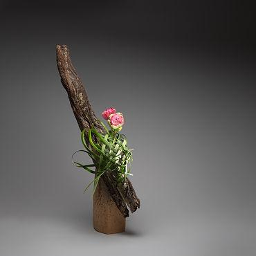 Ikebana Inspired by a Birds Nest