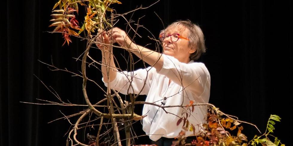Online Introduction to Ikebana - by Ilse Beunen