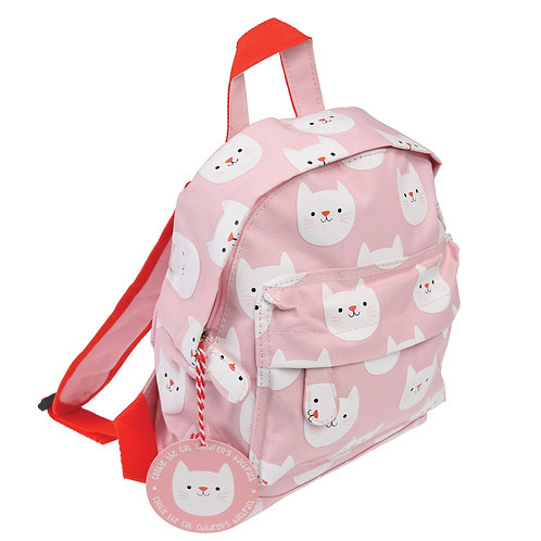 Cookie the Cat Mini Backpack, Free Embroidered Name