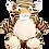 "Thumbnail: Bumbles 15"" Tiger"