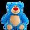 "Thumbnail: Cubbyford Bear 15"" Royal Blue"