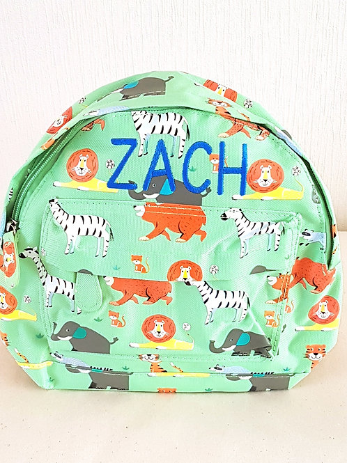Zoo Animals Mini Backpack