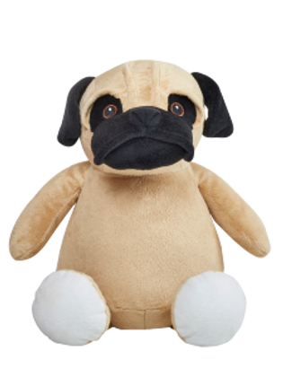 "Barkley Bone 15"" Pug"