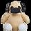 "Thumbnail: Barkley Bone 15"" Pug"