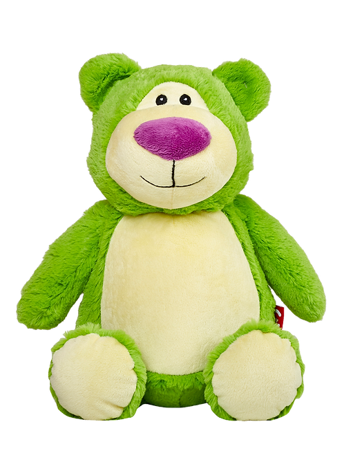 "Cubbyford 15"" Green Bear"