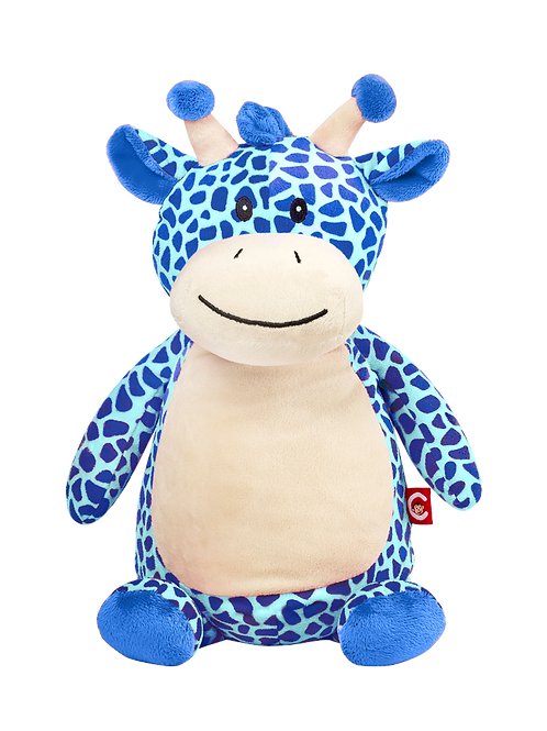 "Tumbleberry 15"" Blue Giraffe"