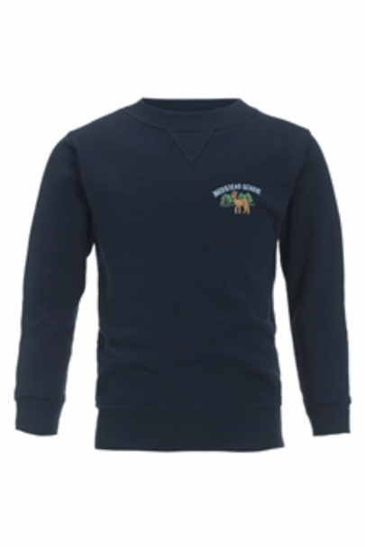*M&S* Medstead Crew Neck Cotton Rich Sweatshirt (ONLY AGE 3-4)