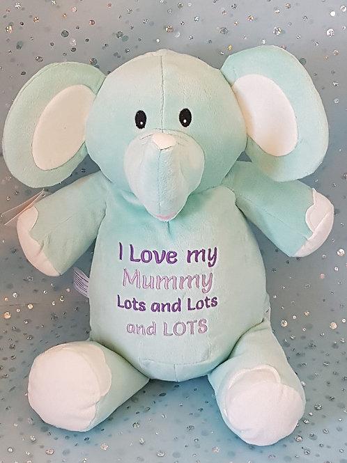 I Love My Mummy Lots Elephant
