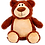 "Thumbnail: Cubbyford 15"" Brown Bear"