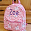 Thumbnail: Personalised Children's Rainbow Unicorn Backpack, Embroidered Name