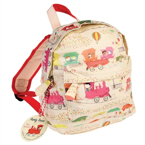 Bella's Boutique Title Personalised Mini Backpack Party Train Gift for Children