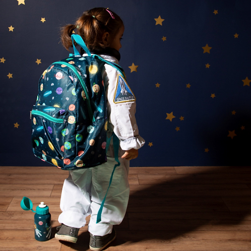 Personalised Children's Space Explorer Backpack, Embroidered Name