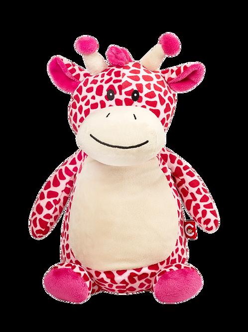 "Tumbleberry 15"" Pink Giraffe"