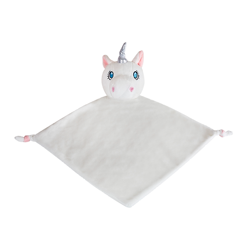 White Unicorn Comforter