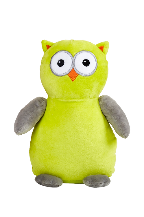 "Hooty Owl 15"" Apple Green"