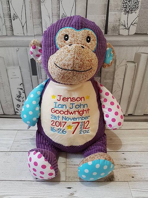 "Cheeky 15"" Purple Monkey"