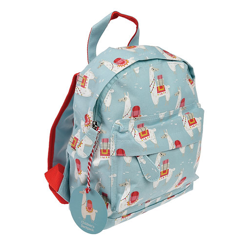 Dolly Llama Mini Backpack, Free Embroidered Name