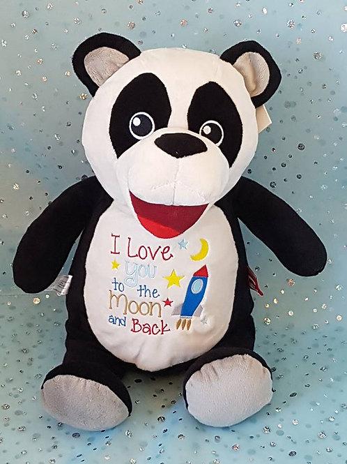 Love You To Moon Panda