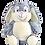 "Thumbnail: Clovis Brampton Furlong III 15"" Grey Bunny"