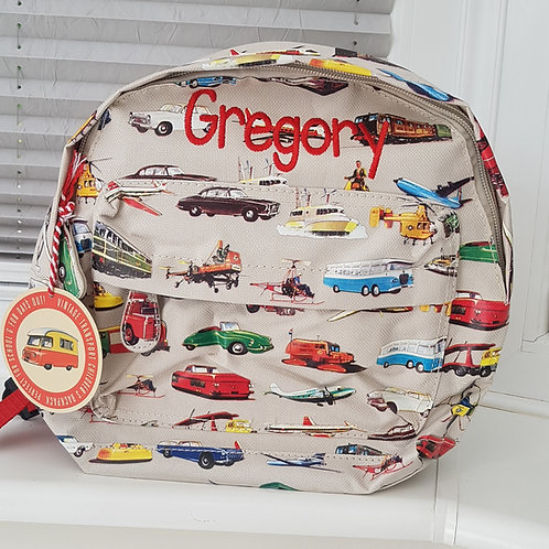 Vintage Vehicles Mini Backpack