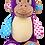 "Thumbnail: Cheeky 15"" Purple Monkey"