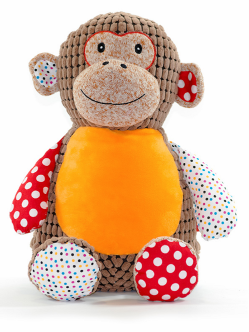 "Huggles 15"" Brown Monkey"