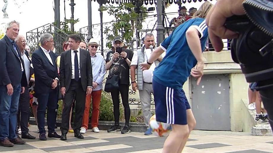 Show freestyle coupe du monde du féminine à Nice