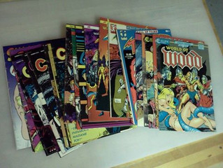 Transforming a Stack of Comics into a Leather Bound Book