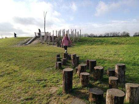 Wandelen langs het Avonturenpad in Zonnebeke
