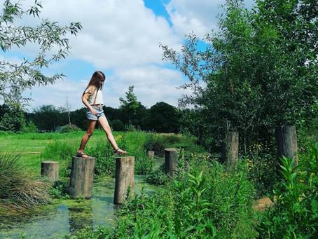 Een zalige namiddag in het groen in Kessel-Lo