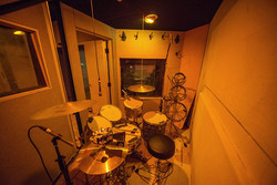 Drums in Iso Booth 1