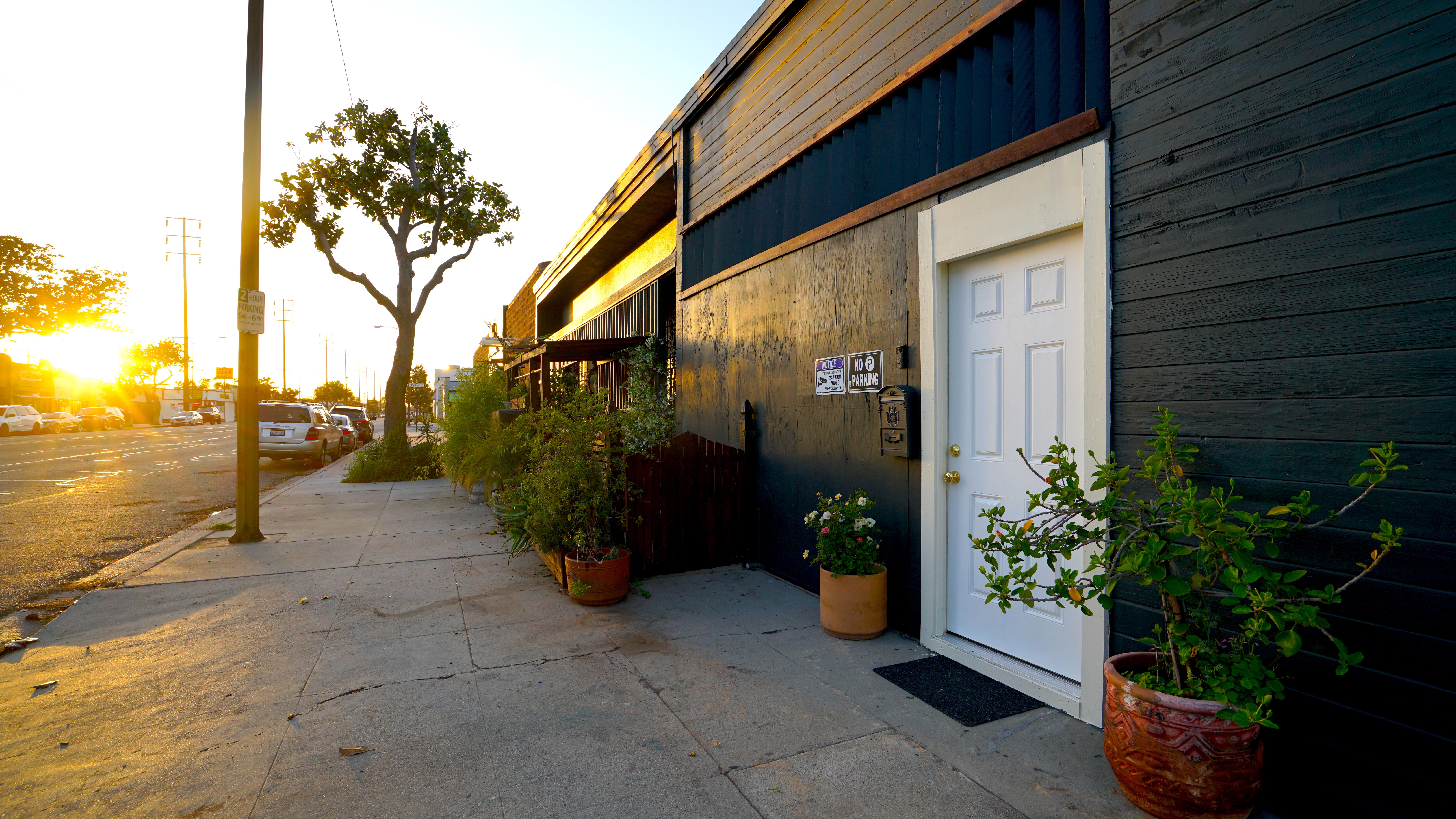 The Studio Entrance.