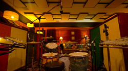 Ludwig Drum Set and Mics.