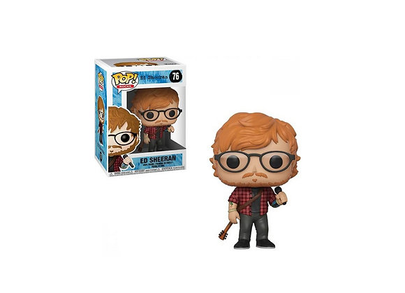 Funko Pop Rocks Ed Sheeran