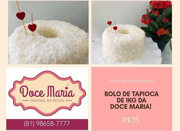 Bolo de Tapioca - 1kg - Doce Maria