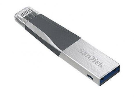 Pen Drive SanDisk iXpand Mini 64GB para PC, Mac, iPhone e iPad
