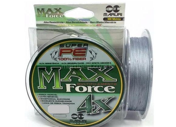 Linha Multifilamento  MaxForce 4X -Diâmetro: 0.20mm