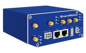 B+B SmartMotion – häiriötöntä tiedonsiirtoa kahdella LTE-radiolla
