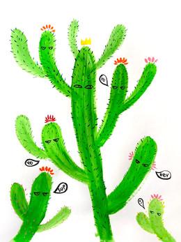 Cactus chat