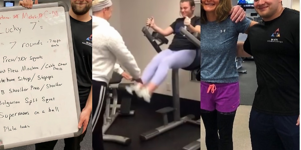 FREE PERSONAL TRAINING DAY (Part 2)!