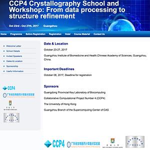 CCP4 workshop