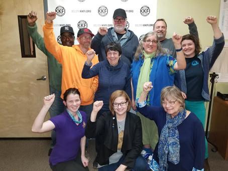 Judy Ancel host of Heartland Labor Forum - Labor Radio Podcast Member Spotlight Series